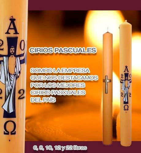 Cirios Pascuales