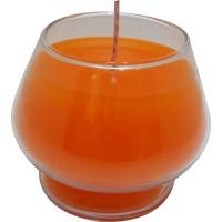 Copa naranja 5x6,5 cm