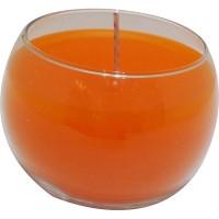 Bocha grande naranja 6,5x5,5 cm