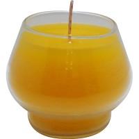 Copa amarilla 5x6,5 cm