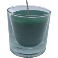 Vaso redondo verde 6,5x6,5 cm