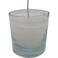 Vaso redondo blanco 6,5x6,5 cm