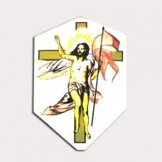 Calco Cristo en dorado